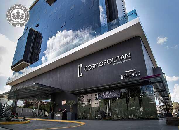 Torre Cosmopolitan recibe la Certificación LEED for Core and Shell v2009 alcanzando el nivel Platinum con 81 puntos