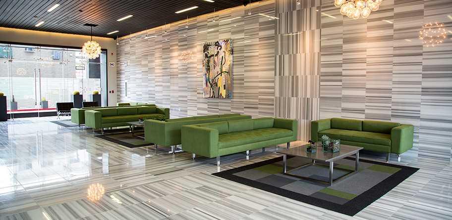Interior de Lobby Torre Cosmopolitan