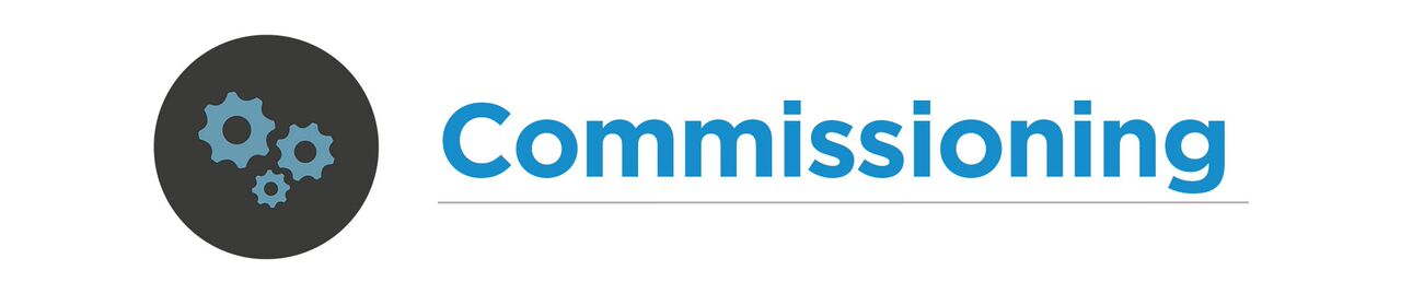 Comisionamiento Commissioning Puesta en marcha,Building commissioning
