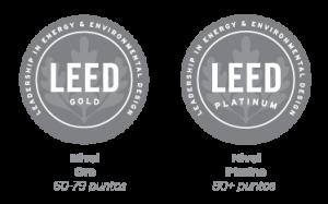 LEED Platino, LEED Plata, LEED Oro, LEED Certificado