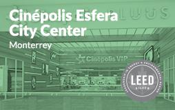 Cinepolis Esfera LEED Silver