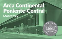 Arca Continental Edificio Poniente Central LEED Silver