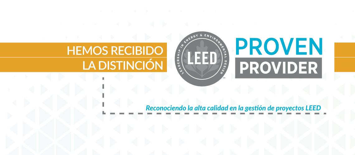 Bioconstruccion y Energia Alternativa ha recibido la distinción LEED Proven Provider