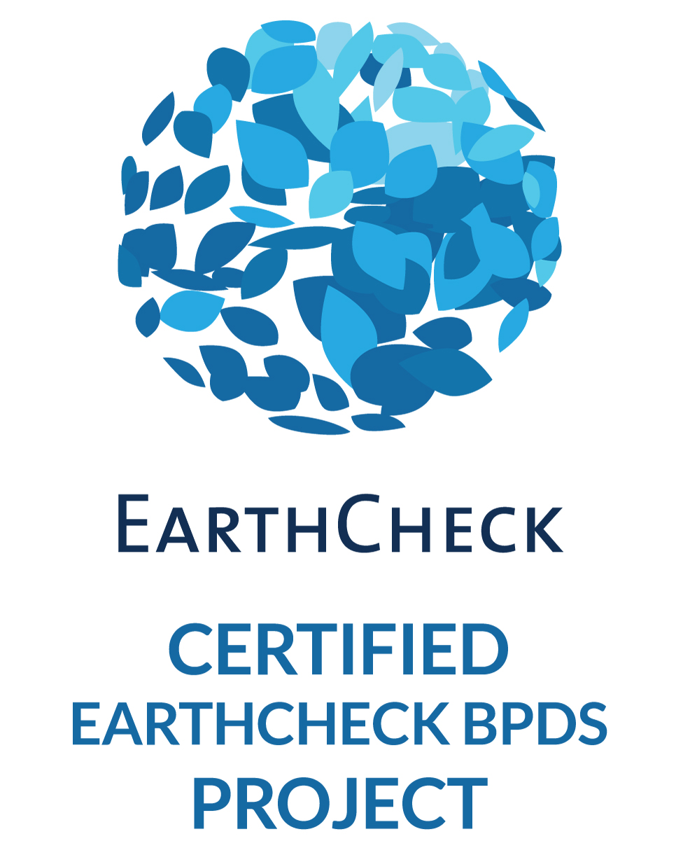 certified earth check project bpds proyecto certificado earthcheck