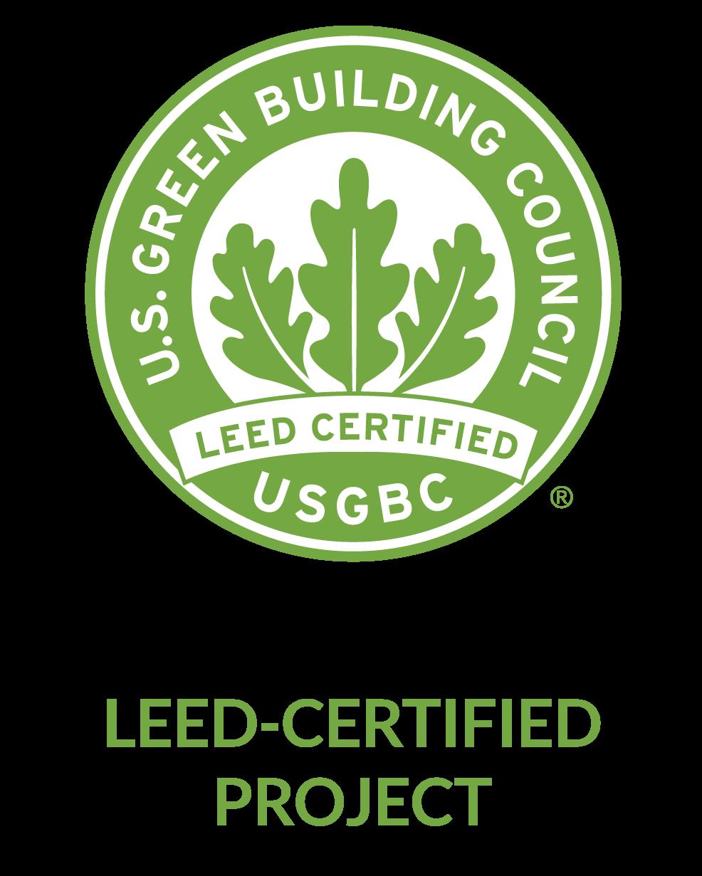certificación leed, USBC, leed certified, certificado leed