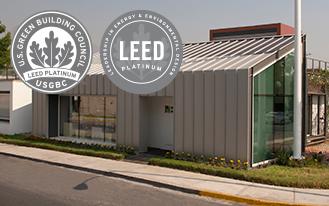 Bioconstrucción y Energía Alternativa alcanza doble certificación LEED Platino